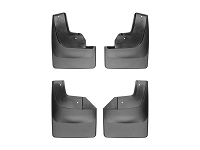 2017-2018 Raptor WeatherTech No-Drill DigitalFit Mudflaps (Front & Rear)