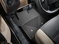 2011-2016 F250 & F350 WeatherTech All-Weather Front Floor Mats - Black