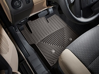 2011-2016 F250 & F350 WeatherTech All-Weather Front Floor Mats - Cocoa