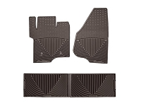 2011-2016 F250 & F350 Crew Cab WeatherTech All-Weather Front & Rear Floor Mats (Cocoa)