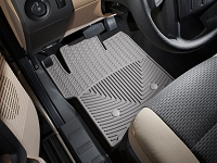 2011-2016 F250 & F350 WeatherTech All-Weather Front Floor Mats - Gray