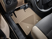 2011-2016 F250 & F350 WeatherTech All-Weather Front Floor Mats - Tan