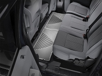2011-2016 F250 & F350 WeatherTech All-Weather Rear Floor Mats - Gray (SuperCrew)