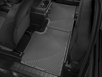 2017-2019 F250 & F350 SuperCab WeatherTech All-Weather Rear Floor Mats