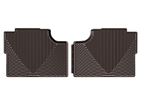 2017-2019 F250 & F350 SuperCrew WeatherTech All-Weather Rear Floor Mats (Cocoa)