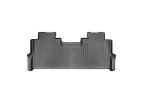 2017-2019 F250 & F350 SuperCrew with Front Bench WeatherTech Rear DigitalFit Laser-Measured Floor Mat (Black)