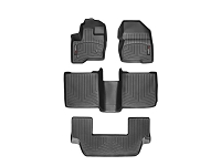 2009-2016 Ford Flex WeatherTech Complete DigitalFit Floor Liner Kit (Black)