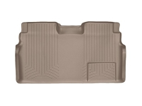 2009-2014 F150 & Raptor SuperCrew WeatherTech Rear DigitalFit Floor Mat (Tan)