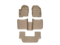2009-2016 Ford Flex WeatherTech Complete DigitalFit Floor Liner Kit (Tan)