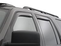 2007-2017 Expedition WeatherTech Front & Rear Dark Smoke Side Window Deflectors