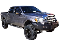 09-14 F150 Fab Fours Premium Front Winch Bumper