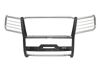 2017-2019 F250 & F350 Westin Sportsman Winch Mount Grille Guard (Stainless)