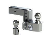 Weigh Safe 4-Inch Drop Hitch w/ Built-In Scale - 2.5