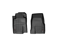 2010-2012 Mustang WeatherTech DigitalFit Black Front Floor Mats (Dual Hook)