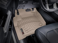 2017-2019 F250 & F350 WeatherTech Floor Liner (Tan)