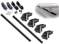 2004-2018 F150 Yakima Complete Track System Bed Rack Package