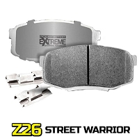 1999-2004 Mustang GT / V6 Power Stop Z26 Street Warrior Front Brake Pads