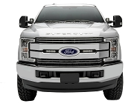 2017-2019 F250 & F350 XLT & XL ZRoadZ OEM Grille LED Light Mounting Kit w/ (2) 6