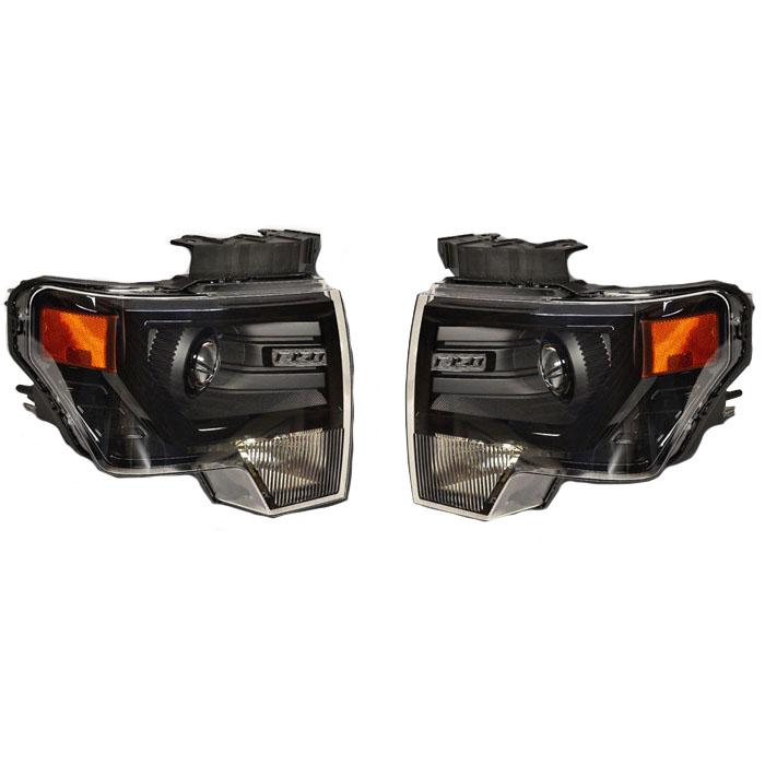 2009 2014 f150 ford bi xenon hid 50w evox projector headlights rh stage3motorsports com 1987 Ford F-150 Wiring Diagram 2005 Ford F-150 Wiring Diagram