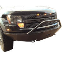 2010-2014 SVT Raptor SVT Iron Cross Replacement Front Bumper - Base Model (Winch Ready)