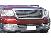 04-05 F150 T-Rex Billet Lower Bumper Overlay Grille (Polished)
