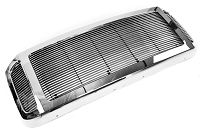 2005-2007 F250 & F350 T Rex Chrome Grille Shell & Billet Grille