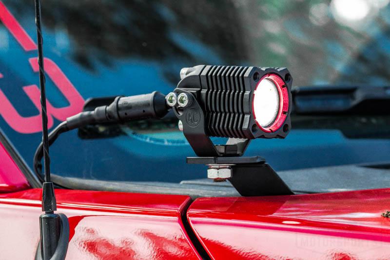 2009 2014 F150 Zroadz Hood Hinge Led Light Pod Mounts Z365601
