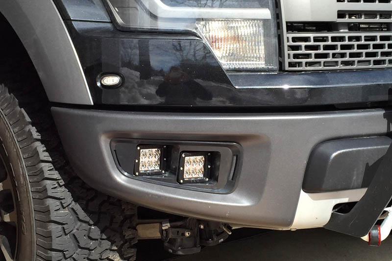2010 2014 Svt Ford Raptor Off Road Fog Light Bezel Bracket