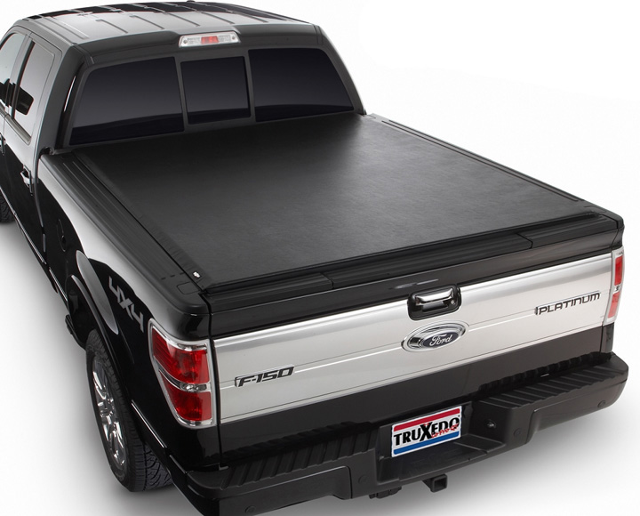 2009-2014 F150 Truxedo Lo Pro QT Tonneau Cover 6.5 ft. Bed (w/ Ford Cargo System)