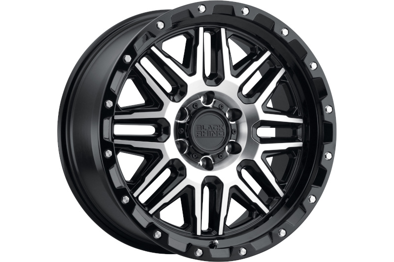 6x139.7mm Bolt Pattern Black Rhino Alamo 17x9