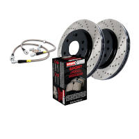 2010-2011 F150 StopTech Front Drilled Sport Axle-Pack Brake Kit