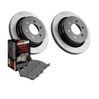 2010-2011 F150 StopTech Rear Slotted Truck Axle-Pack Brake Kit