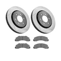 2010-2014 F150 StopTech Front Slotted Street Axle-Pack Brake Kit