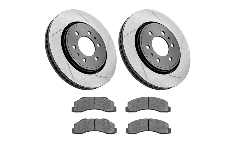 Stoptech 937.61516 Street Axle Pack Slotted Rear