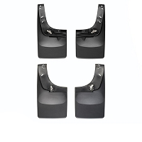 2004-2014 F150 WeatherTech No-Drill DigitalFit Mudflaps (Front & Rear)