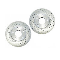 2005-2010 Mustang GT Baer Sport Front Rotors (Will Fit 11-14 V6)