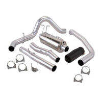 2011-2014 F150 Banks Monster Exhaust - Crew Cab 5.5ft. Bed (Black Tip)