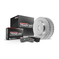 2013-2014 GT500 Powerstop Track Day Rear Brake Kit