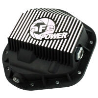 1994.5-2016 F250 & F350 AFE Front Differential Cover (Black Machined/Pro Series)