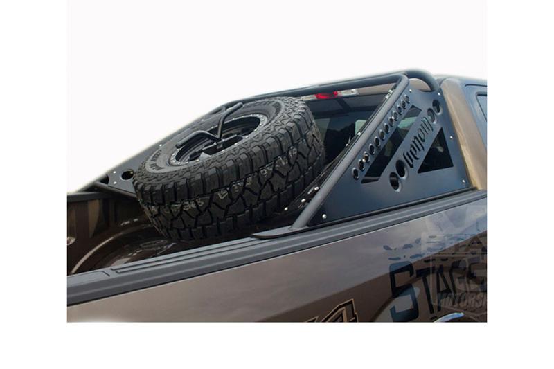 2004 2019 F150 Svt Raptor Add Venom Chase Rack With Tire Carrier