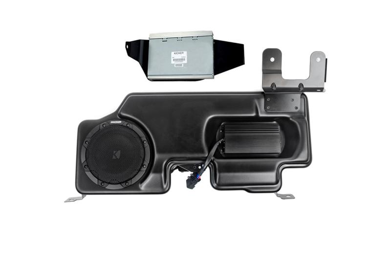 2015-2018 F150 Kicker VSS PowerStage Powered Subwoofer & Amp Kit
