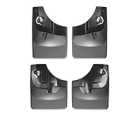 2015-2018 F150 WeatherTech No-Drill DigitalFit Mudflaps (Front & Rear)