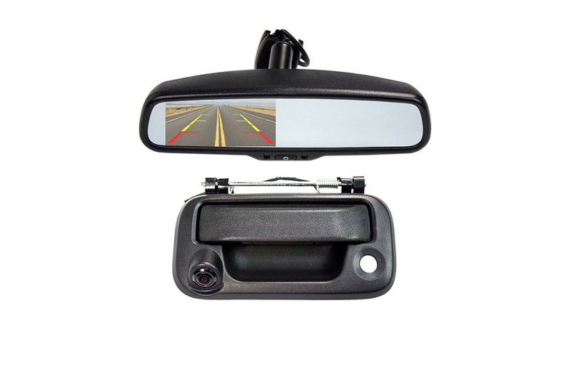 2004 2014 F150 Rear View Mirror Back Up Camera Package Sv 6830mir 045