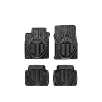 2005-2009 Mustang WeatherTech All-Weather Full Floor Mats (Black)