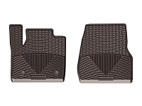 2017-2019 F250 & F250 WeatherTech All Weather Floor Mats - Cocoa