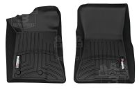 2015-2017 Mustang WeatherTech Front DigitalFit Floor Mats (Black)
