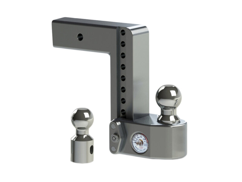 Weigh Safe 8-Inch Drop Hitch w/ Built-In Scale - 2.5