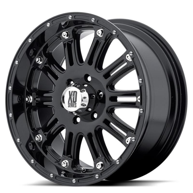 1999 2019 F250 Amp F350 Xd 795 20x9 Quot Gloss Black Hoss Wheel