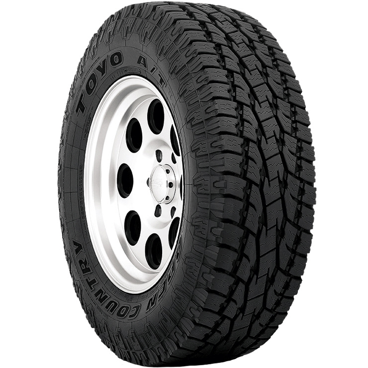 toyo open country a t ii all terrain tire. Black Bedroom Furniture Sets. Home Design Ideas