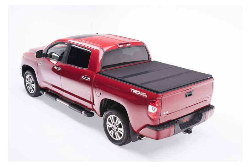 2014 2020 Tundra 8ft Bed Extang Solid Fold 2 0 Folding Tonneau Cover W Deck Rail System 83471